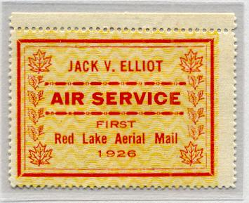 Jack V Elliot Airways at Sioux Lookout Ontario - 1926