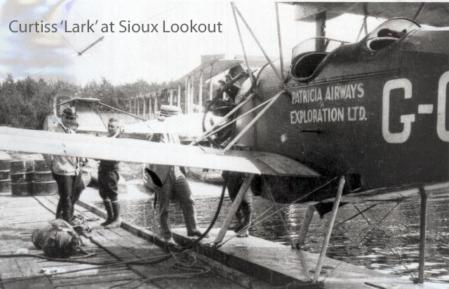 Curtis Lark at Sioux Lookout