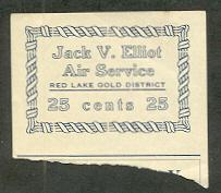 Jack V Elliot Airways Essay Stamp